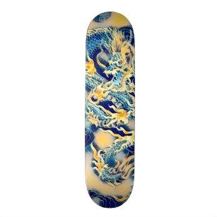 Ancient Dragon Scroll Element Custom Pro Board Skateboard