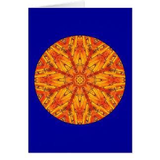 Ancient Echoes Crystal Mandala Card