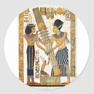 Ancient Egypt 1 Classic Round Sticker