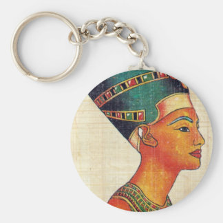 Ancient Egypt 2 Basic Round Button Key Ring
