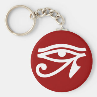 Ancient Egypt Eye Symbol Keychain