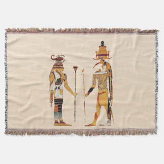 Ancient Egypt Gods Blanket