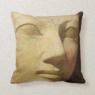 Ancient Egypt Hatshepsut statue temple travel Cushion