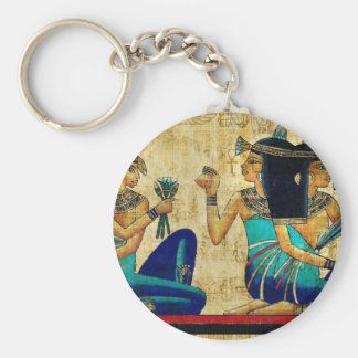 ANCIENT EGYPT PAINTING KEYCHAINS