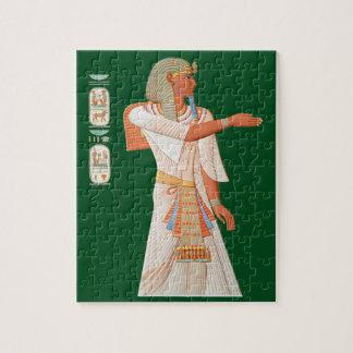 Ancient Egypt ~ Pharaoh Mienptah-Hotéphimat ~1878 Jigsaw Puzzle