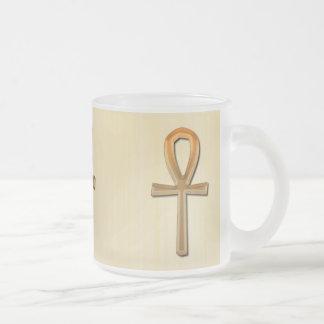 Ancient Egyptian Ankh Egypt Gold Coffee Mug