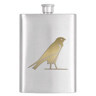 Ancient Egyptian bird – goddess Nekhbet Hip Flask