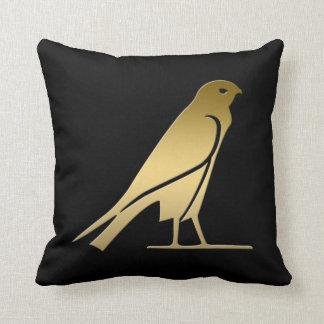 Ancient Egyptian bird – goddess Nekhbet Throw Pillow