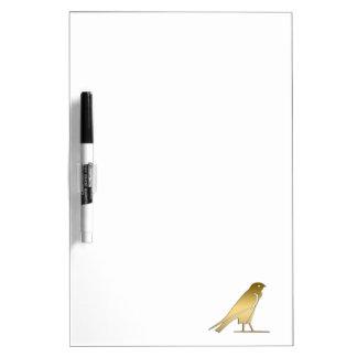 Ancient Egyptian bird – goddess Nekhbet Dry Erase White Board