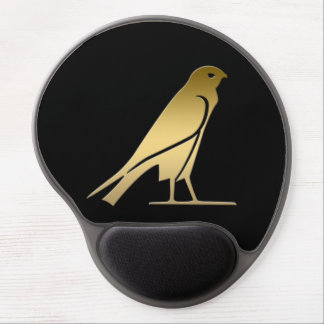 Ancient Egyptian bird – goddess Nekhbet Gel Mouse Pad