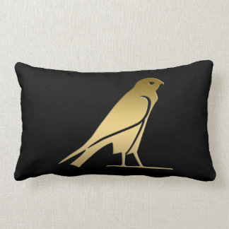 Ancient Egyptian bird – goddess Nekhbet Lumbar Pillow