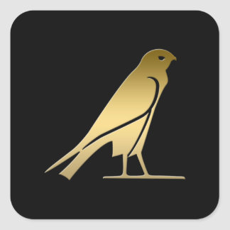 Ancient Egyptian bird – goddess Nekhbet Sticker