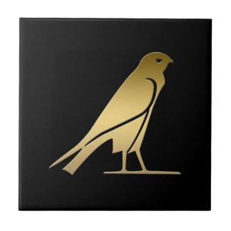 Ancient Egyptian bird – goddess Nekhbet Tile