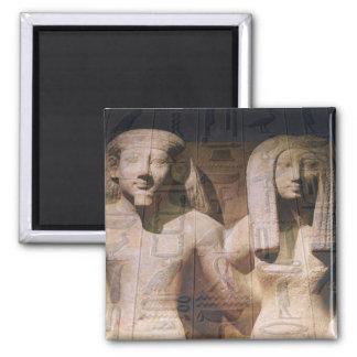 Ancient Egyptian Couple Hieroglyphics Magnets