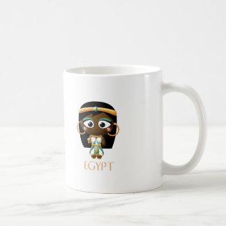 Ancient Egyptian Girl Coffee Mug