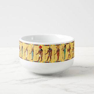 Ancient Egyptian Gods and Goddesses Soup Mug