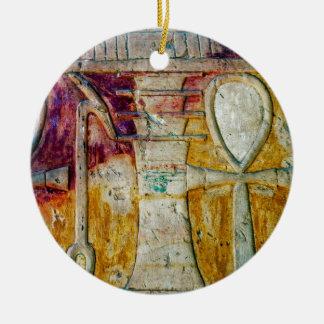 Ancient Egyptian Hieroglyphics Ornament