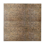 Ancient Egyptian Hieroglyphs Designer Gift Tiles