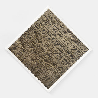 ancient egyptian hieroglyphs disposable napkins