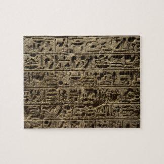 ancient egyptian hieroglyphs jigsaw puzzle