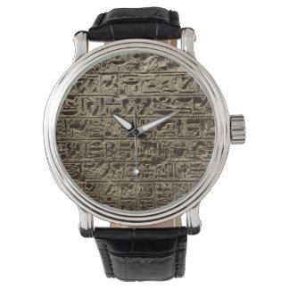 ancient egyptian hieroglyphs watch