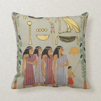 Ancient Egyptian People Pillow