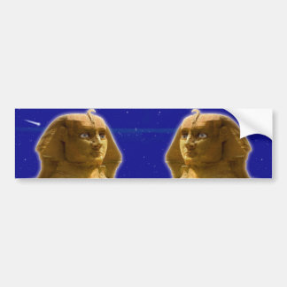 Ancient Egyptian Sphinx at Giza Art Design Bumper Sticker