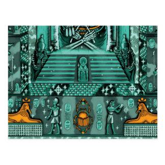 Ancient Egyptian themed postcard