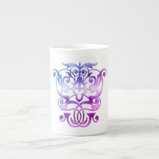 Ancient Empathic Elegance (Mardi Gras Series) Tea Cup