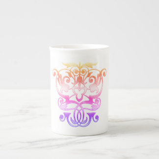 Ancient Empathic Elegance (Mardi Gras Series) Tea Cup