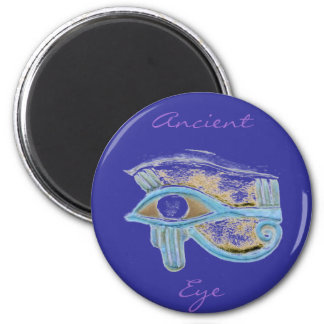 Ancient Eye 6 Cm Round Magnet
