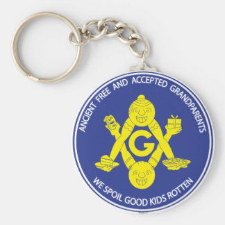 ANCIENT FREE & ACCEPTED GRANDPARENTS  KEYCHAIN