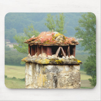 Ancient French Chimney Mouse Mat