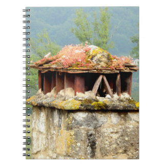 Ancient French Chimney Notebook