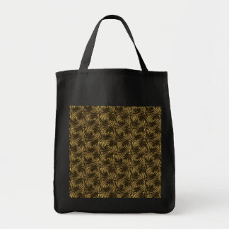 Ancient Golden Celtic Spiral Knots Pattern Bags