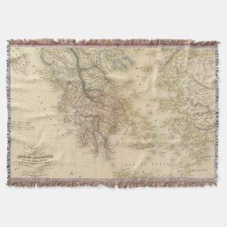 Ancient Greece 3 Throw Blanket