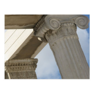 Ancient Greek Architectural Columns Postcard