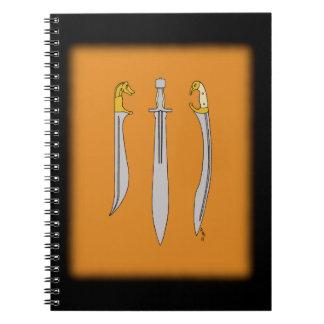 Ancient Greek Blades Notebooks