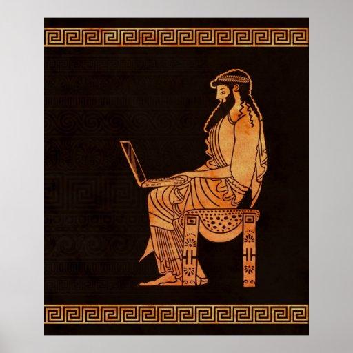 Ancient Greek Businessman Print
