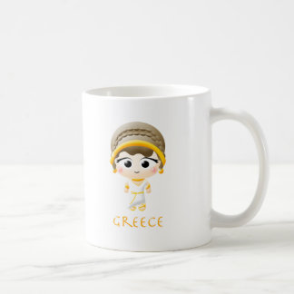 Ancient Greek Girl Mugs