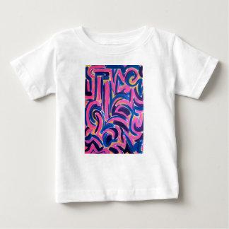 Ancient Greek Graffiti-Hand Painted Abstract Art Baby T-Shirt