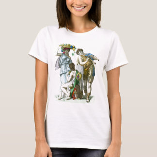Ancient Greek Musicians and Country Folk T-Shirt