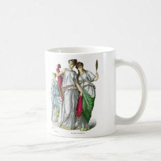 Ancient Greek Priestess and Noble Women Coffee Mug