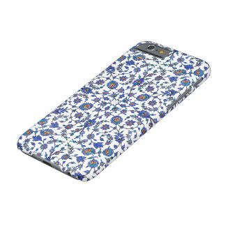 Ancient Handmade Turkish Floral Tiles Pattern Barely There iPhone 6 Case