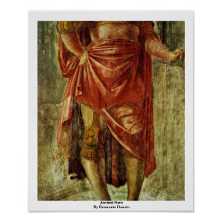 Ancient Hero By Bramante Donato Posters