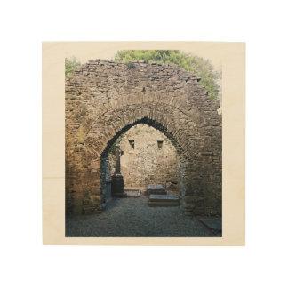 Ancient Irish Cemetery Wood Print
