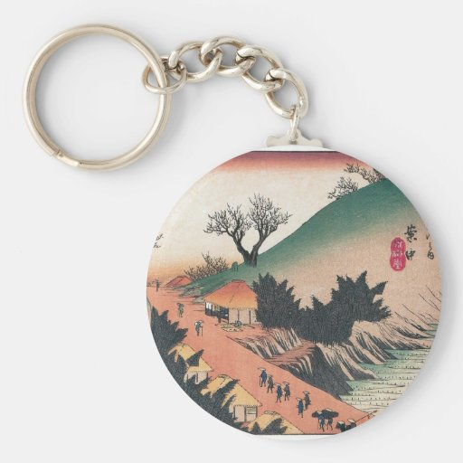 Ancient Japan. Keychain