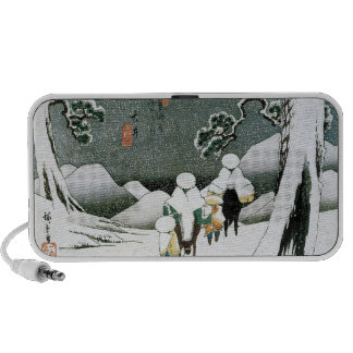 Ancient Japan, Snow, Mountains Speaker