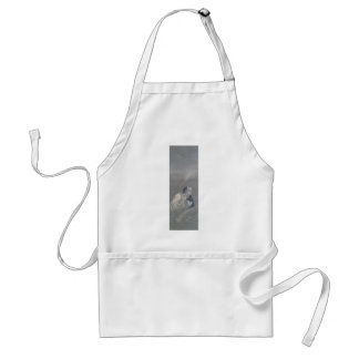 Ancient Japanese Art, Ghost with Head in his Mouth Standard Apron