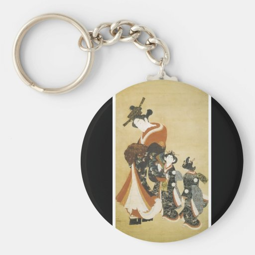 Ancient Japanese Art Keychain